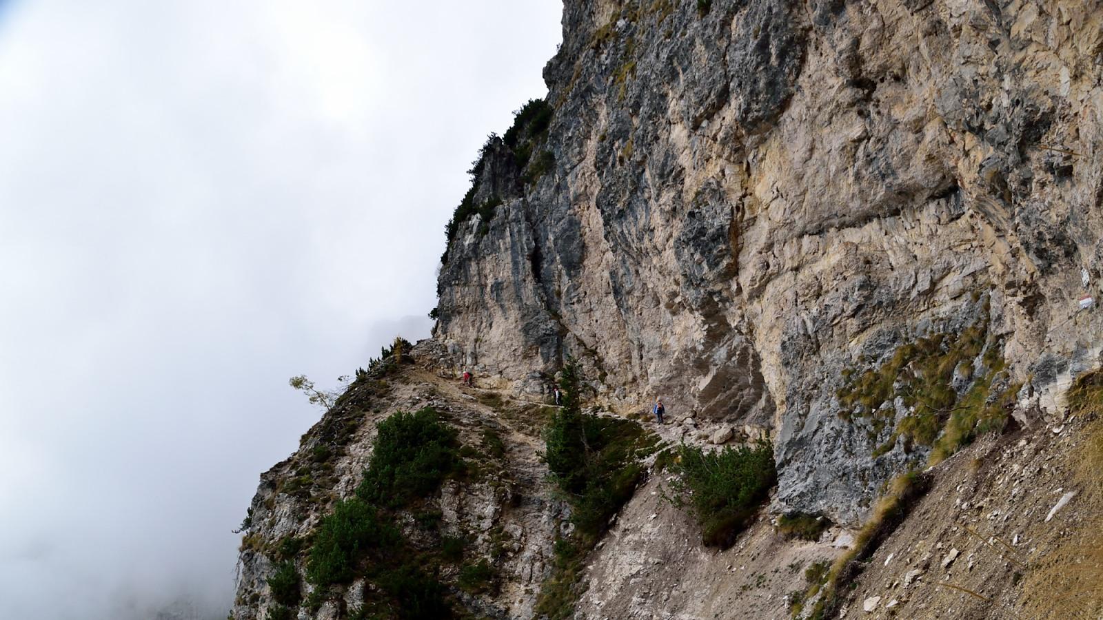 Klettersteig Roen : Dav
