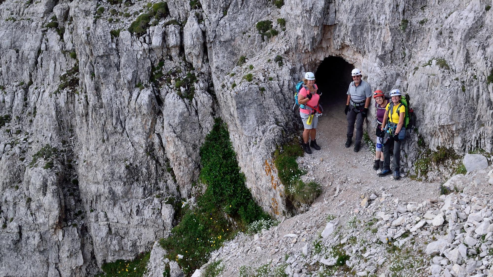 Klettersteig Paternkofel : Klettersteig paternkofel youtube